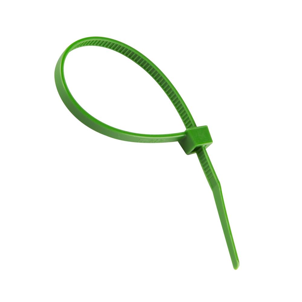 Bridas plásticas, Verde