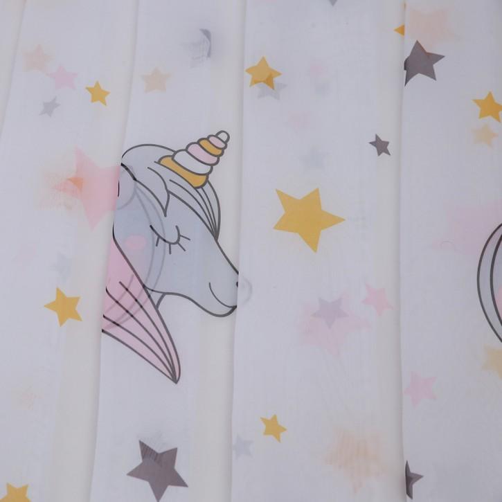 Cortina Loneta/Visillo con Ojales para Habitación Infantil Lulu