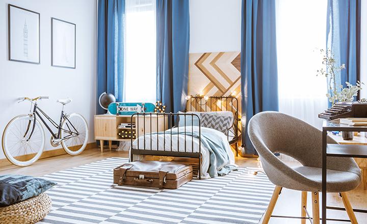 Cortinas lonetas para dormitorios