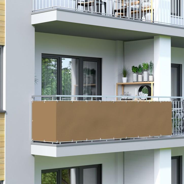 Malla de Ocultación para Balcón, BASIC, Tejido Impermeable