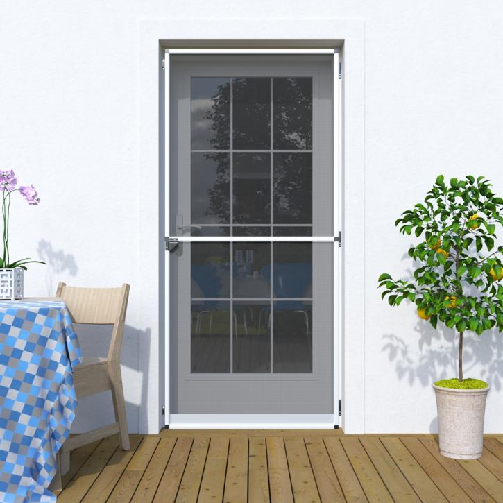 Mosquitera Abatible, para Puertas, 120x220cm, Producto Terminado