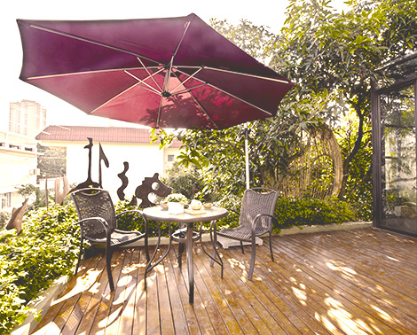 parasoles para terraza