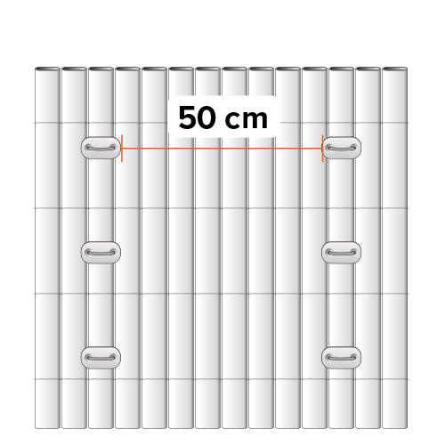 cañizo de PVC para jardín
