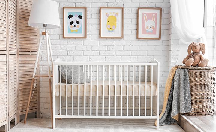 Cortina loneta para habitación infantil