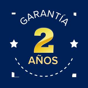 Garantía 2 años