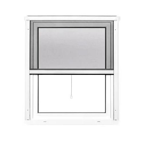 Mosquitera Enrollable Vertical 4 en 1, para Ventanas, Producto Terminado, Blanco