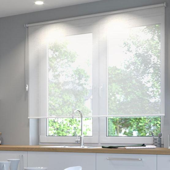 estores enrollables de ventana a medida para cocina