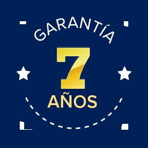 Garantía 7 años
