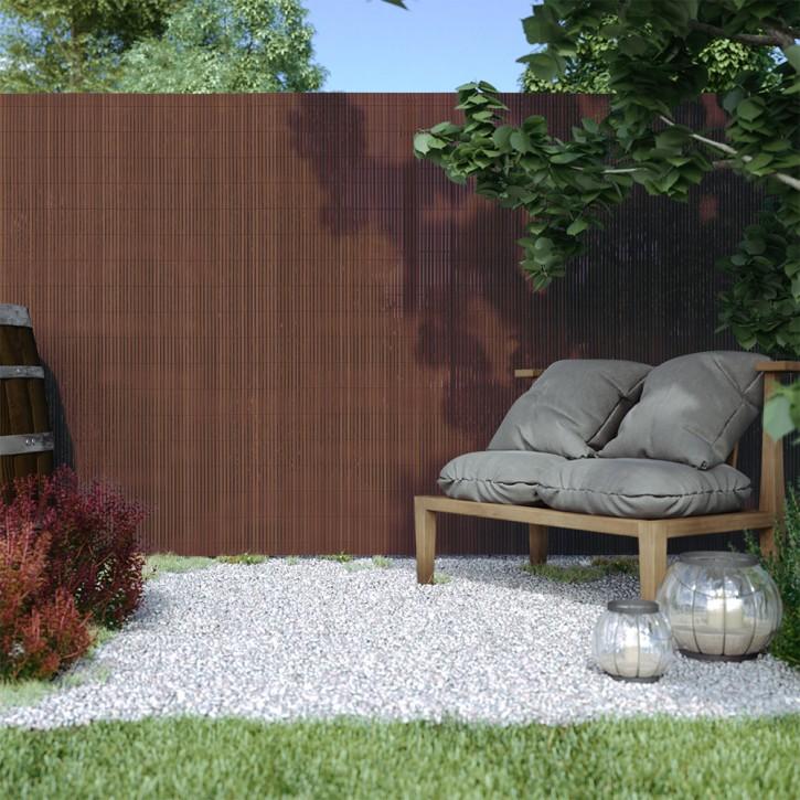 canizo-jardin-pvc-standard-13mm-marron-imagen1