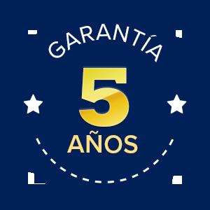 Garantía 5 años