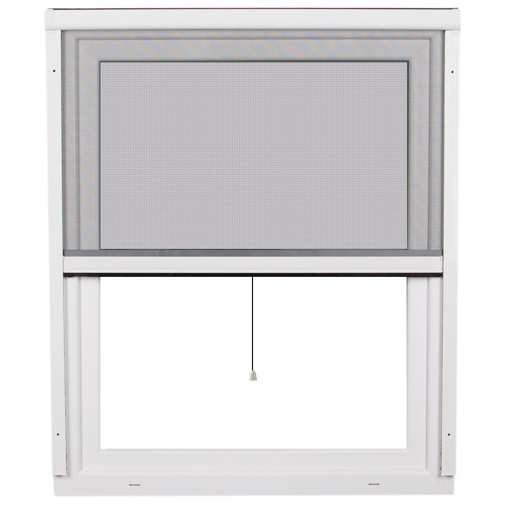 Mosquitera Enrollable Vertical 2 en 1, para Ventanas, Producto Terminado, 130x160 cm