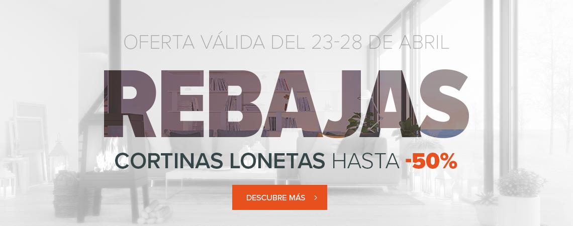 Rebajas - Cortina Lonetas hasta -50%