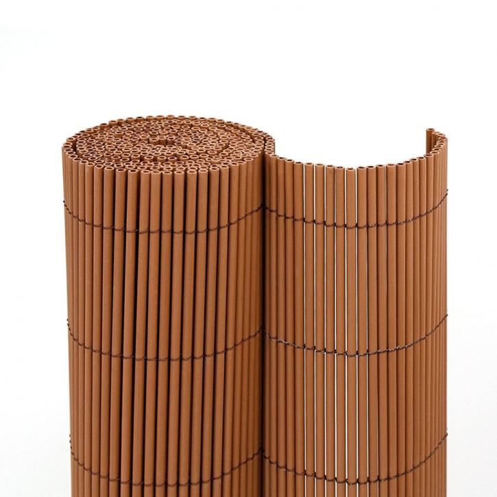 Cañizo de PVC para Jardín, Ecológico, en Marrón