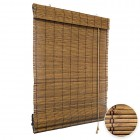 Preestreno: estor-plegable-bambu-producto-listo-opciones-marron-imagen1