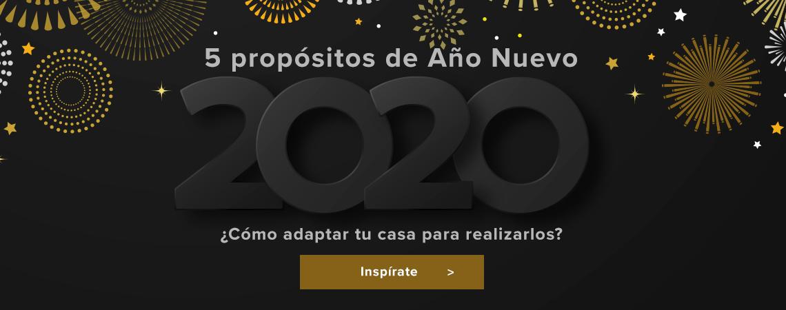 5 propósitos de Año Nuevo 2020