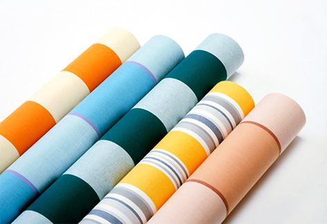telas de toldos coloridos