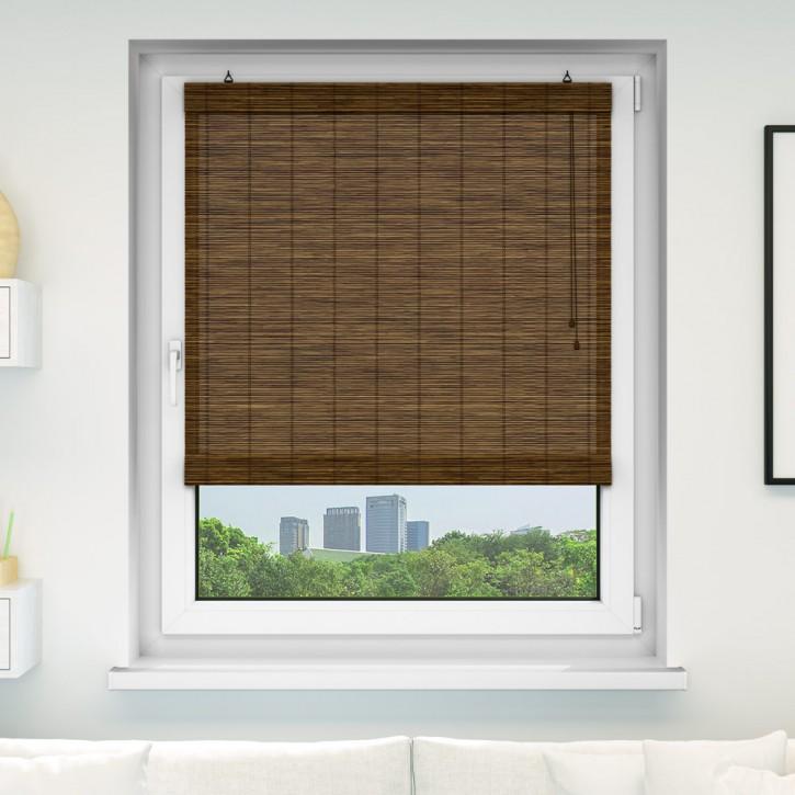 Estor plegable de bamb producto terminado estores bamb estores domondo - Estores de bambu para exterior ...