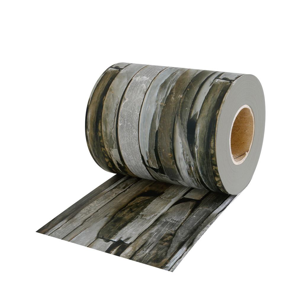 Rollo de Ocultación de PVC con Clips de Sujeción, Patrón de pizarra empedrada