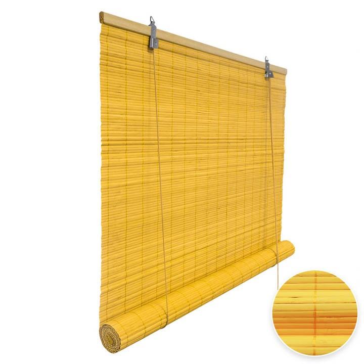 Estor Enrollable de Bambú, Producto Terminado