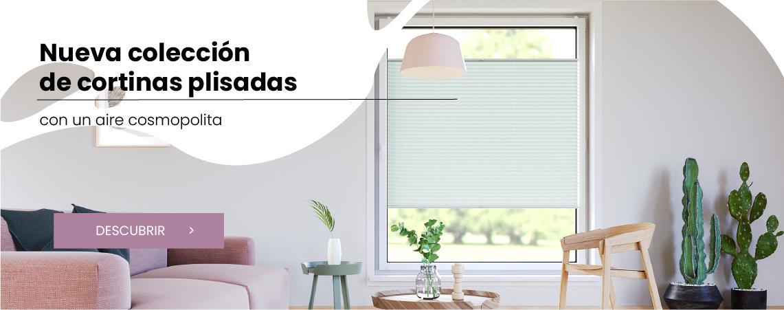 Nueva colección de cortinas plisadas con un aire cosmopolita