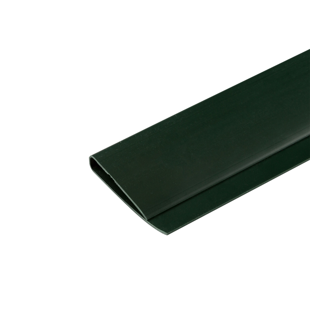 """Perfil en """"U"""" para cañizo de PVC para jardín, Verde"""