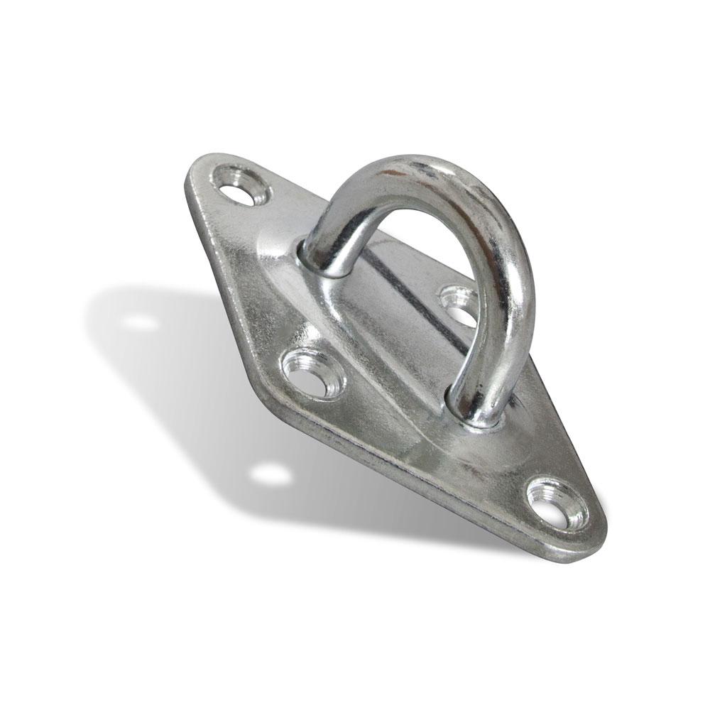 Portagancho-soporte con Ojal de Metal para Toldos Vela