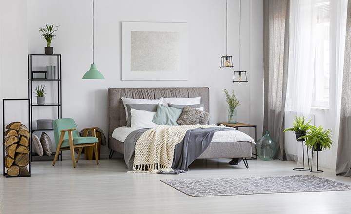 Cortina loneta/visillo para habitación