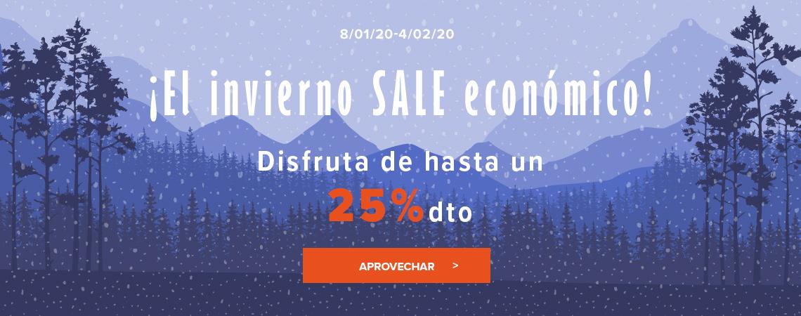 El invierno SALE económico