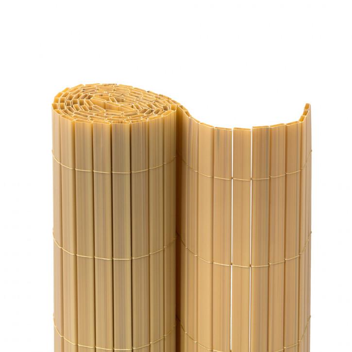 Cañizo de PVC para Jardín, Listón 17mm de Ancho