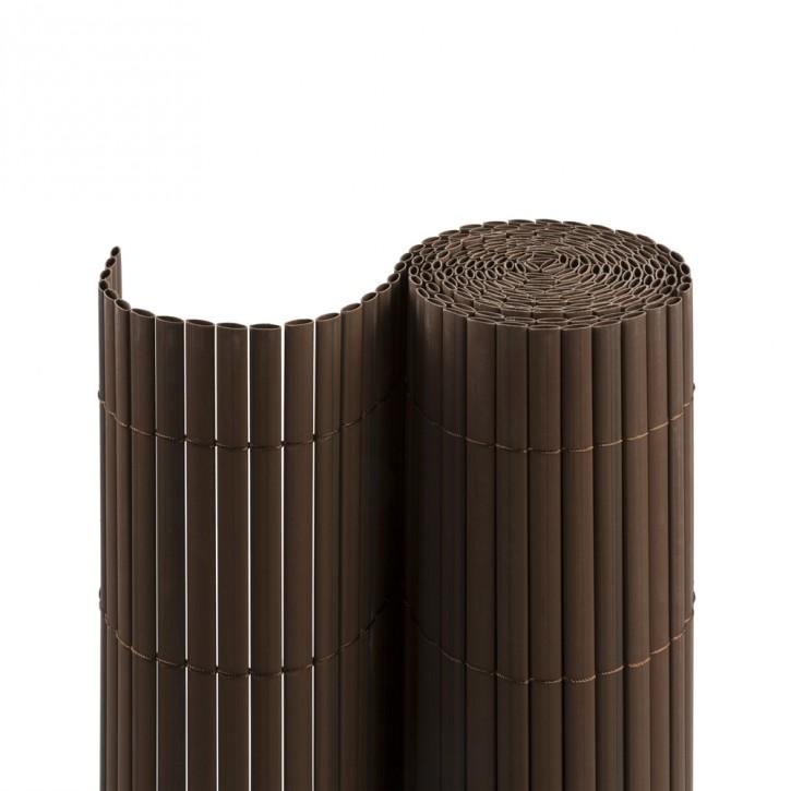 canizo-jardin-pvc-standard-13mm-marron-imagen3